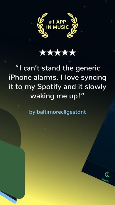 Morning™ Spotifyの目覚まし時計: 時計のおすすめ画像2