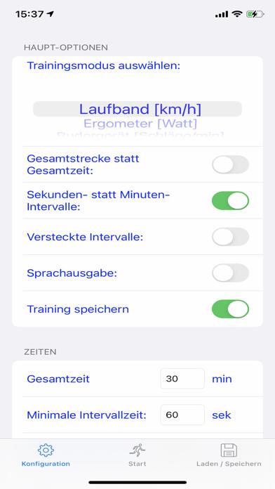 LaufbandtrainerScreenshot von 1