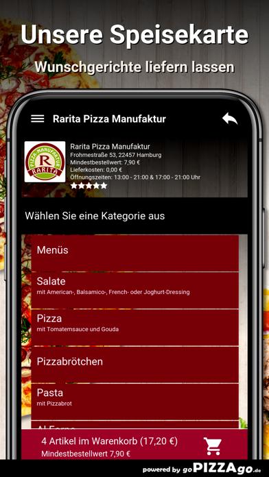 Rarita Pizza Hamburg screenshot 4