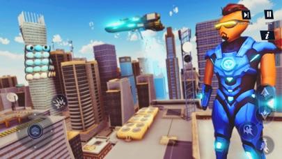 Stickman Iron Robot Superhero Screenshot on iOS