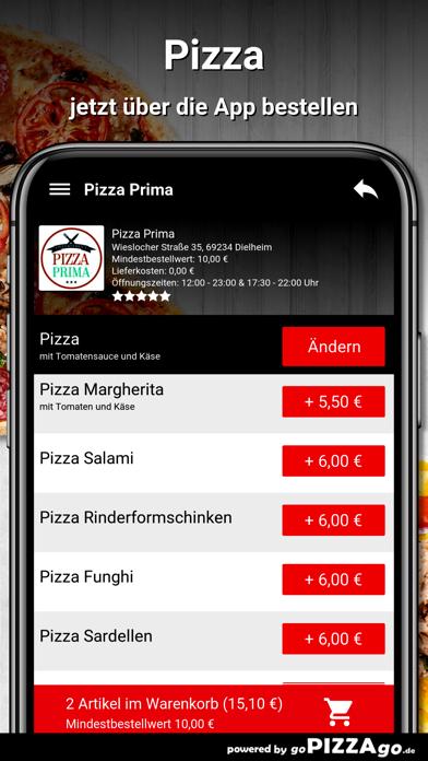 Pizza Prima Dielheim screenshot 5