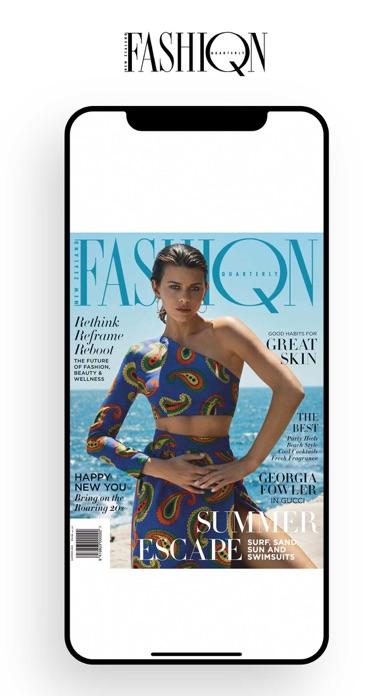 New Zealand Fashion QuarterlyScreenshot of 1