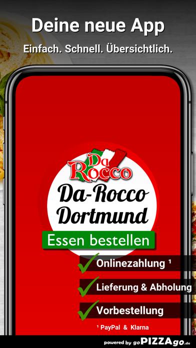 Pizzeria Da-Rocco Dortmund screenshot 1