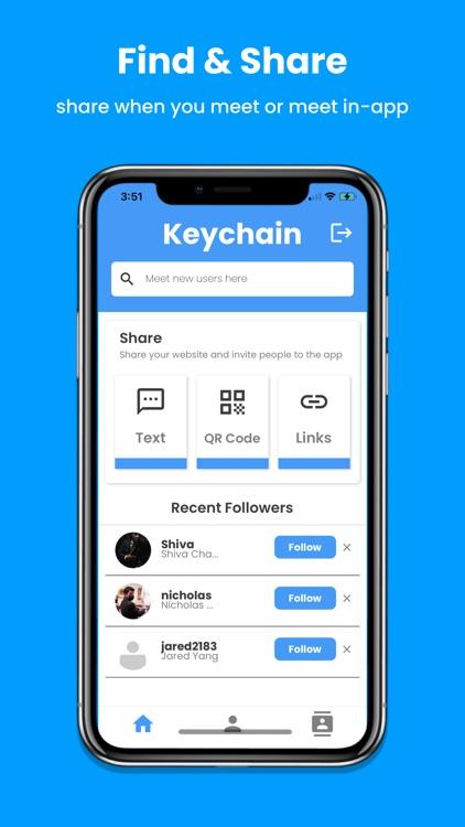 Keychain — Your Social Cloud
