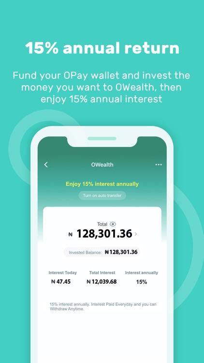 OPay - Cash rain , Transfer screenshot-3