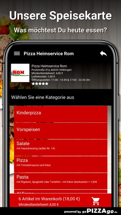Pizza Rom Völklingen screenshot 4