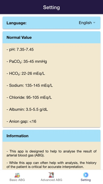 Complete ABG Analysis screenshot-3