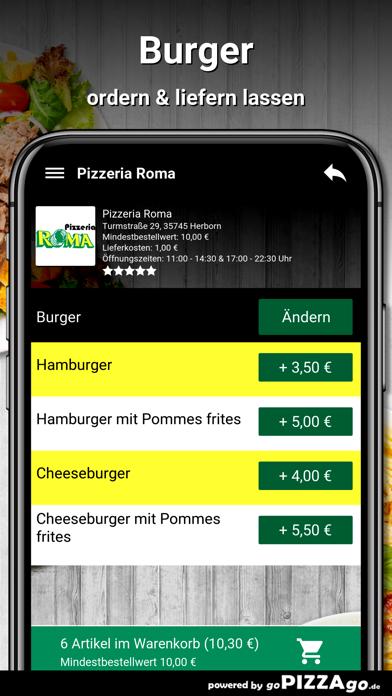 Pizzeria Roma Herborn screenshot 6