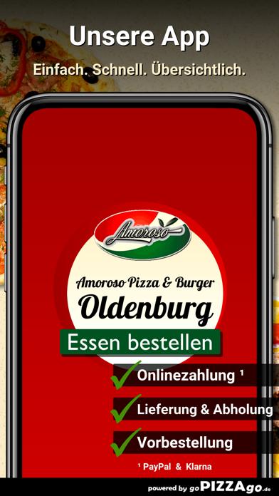 Amoroso Pizza & Burger Oldenbu screenshot 1