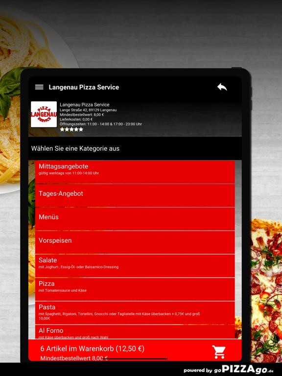 Langenau Pizza Service Langena screenshot 8