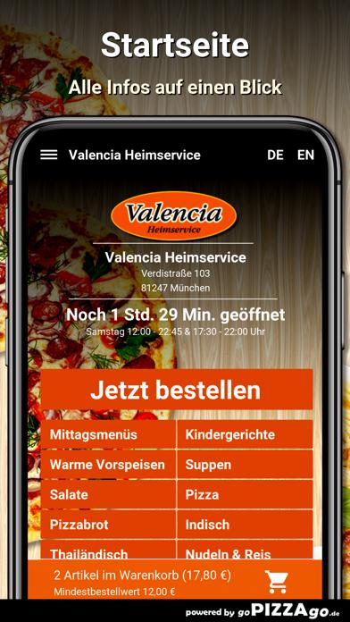 Valencia Heimservice München screenshot 2