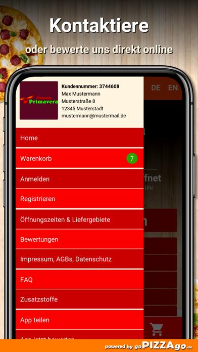 Pizzeria Primavera Dietzenbach screenshot 3
