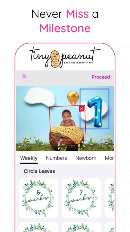 Tiny Peanut: Baby Photo Editor screenshot-7