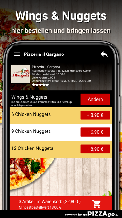 Pizzeria il Gargano Heinsberg screenshot 6
