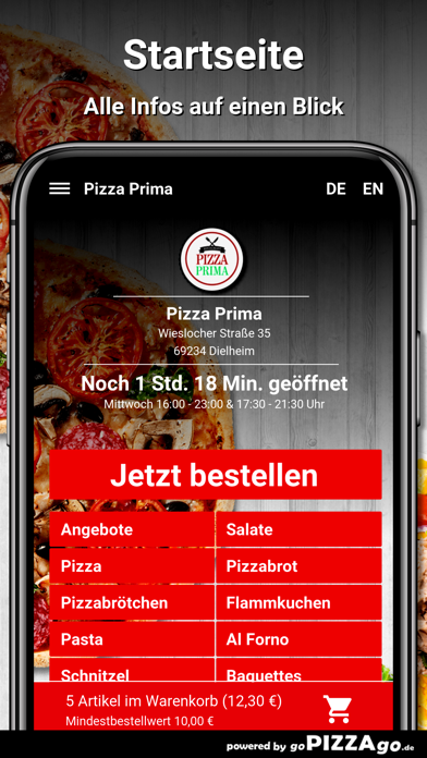 Pizza Prima Dielheim screenshot 2
