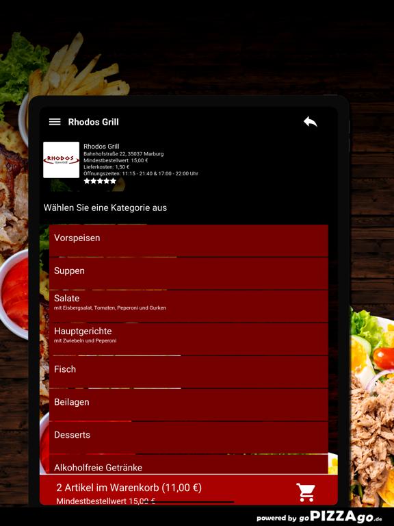 Rhodos-Grill Marburg screenshot 8