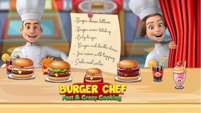 バーガーシェフのレストランのゲーム紹介画像1