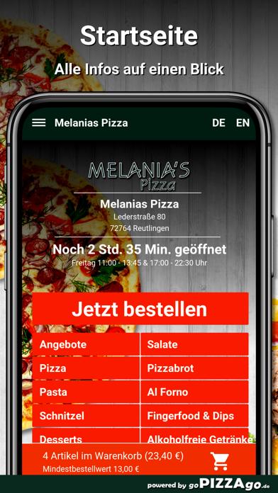 Melanias Pizza Reutlingen screenshot 2
