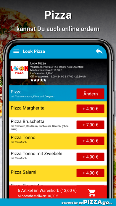 Look Pizza Köln Ehrenfeld screenshot 5