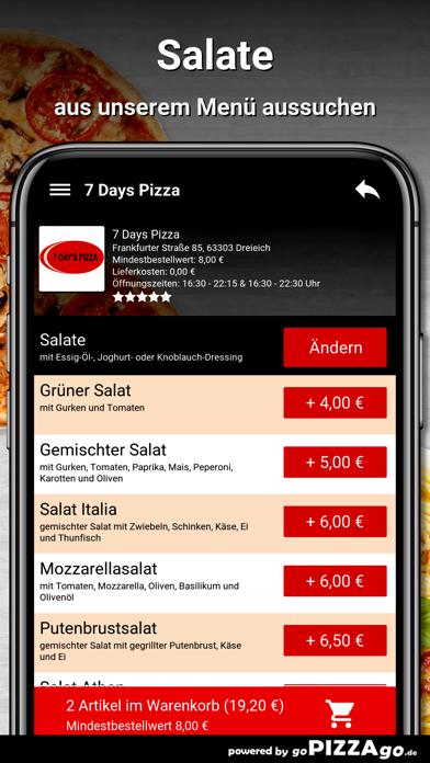 7 Days Pizza Dreieich screenshot 5