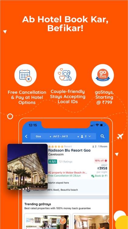 Goibibo: Flight, Hotel & Train screenshot-3