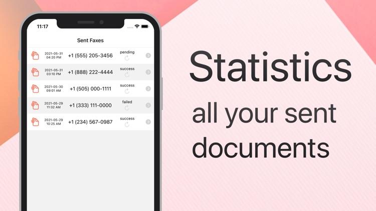 Send Fax on iPhone screenshot-3