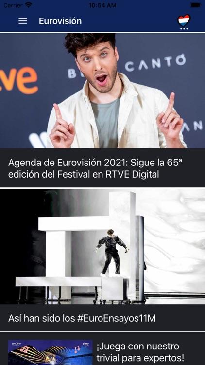 Eurovisión  rtve.es