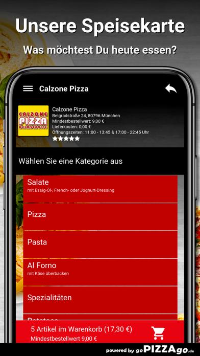Calzone-Pizza München screenshot 6