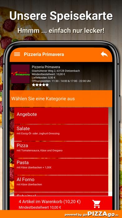 Pizzeria Primavera Dietzenbach screenshot 4