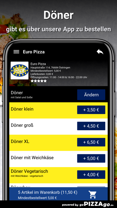 Euro Pizza Östringen screenshot 6