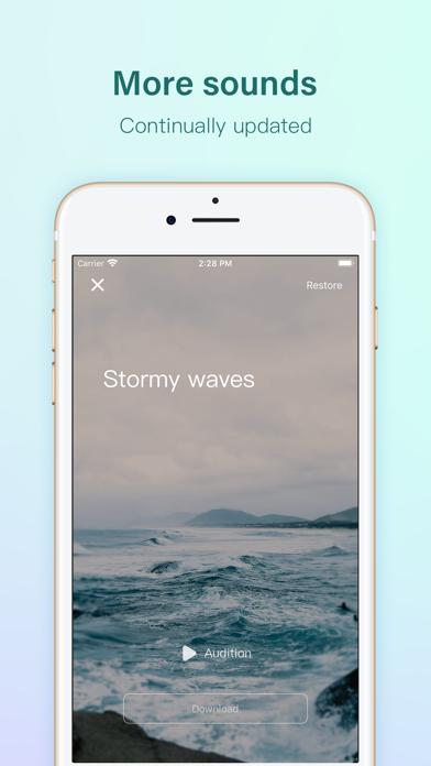 Rain sleep - sleep soundsScreenshot von 4