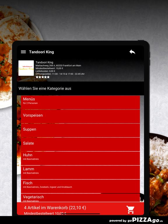 Tandoori-King Frankfurt screenshot 8