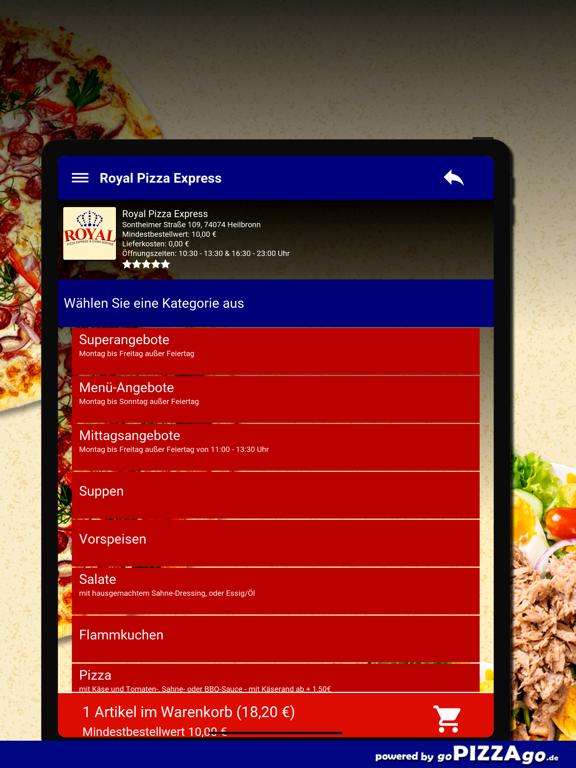Royal Pizza Express Heilbronn screenshot 8