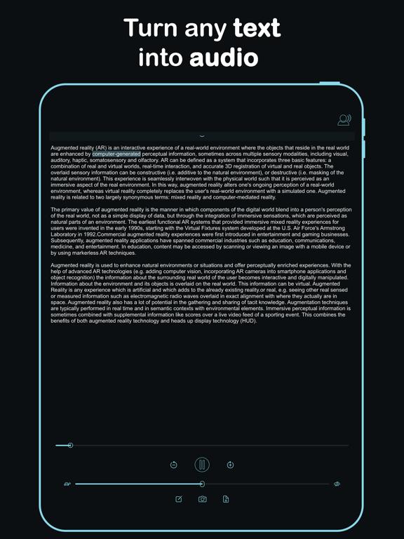 Listen - Text To Speech screenshot 9