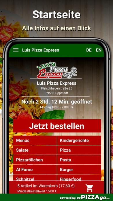 Luis Pizza Express Lippstadt screenshot 2