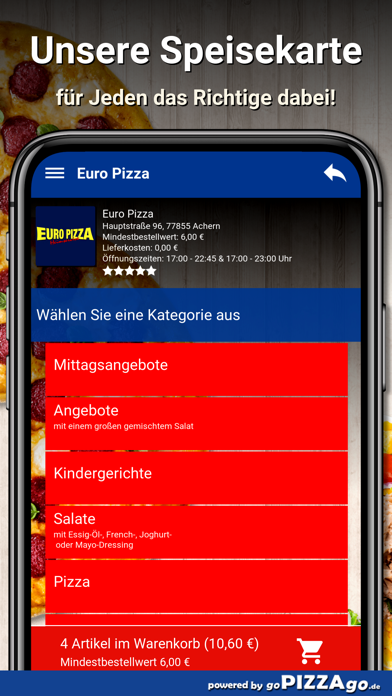 Euro Pizza Achern screenshot 4
