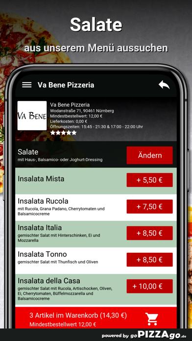 Va Bene Pizzeria Nürnberg screenshot 5