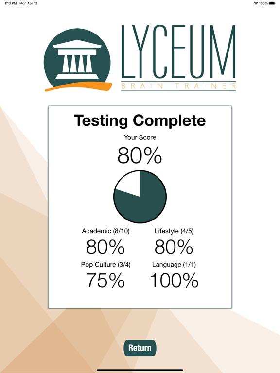Lyceum Brain Trainer screenshot 14
