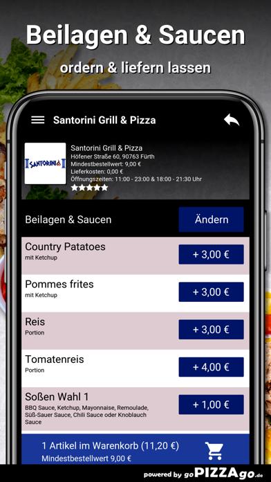 Santorini Grill & Pizza Fürth screenshot 6