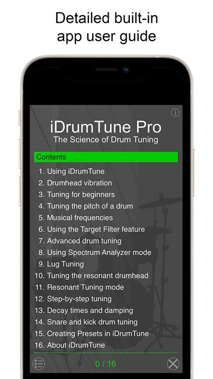 Drum Tuner - iDrumTune Pro screenshot-6