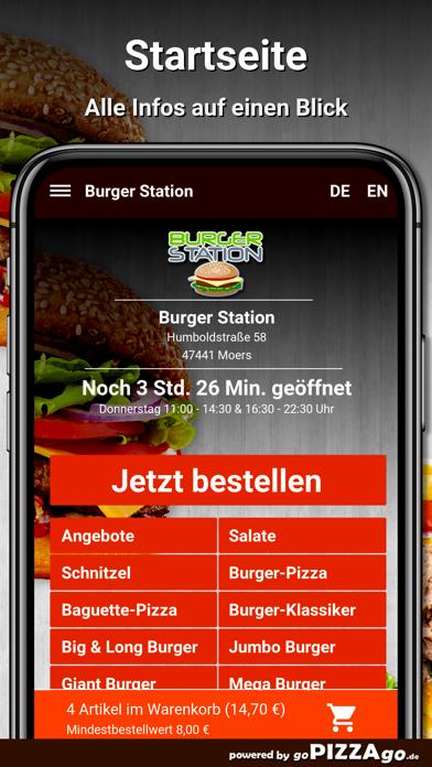 Burger Station Moers screenshot 2