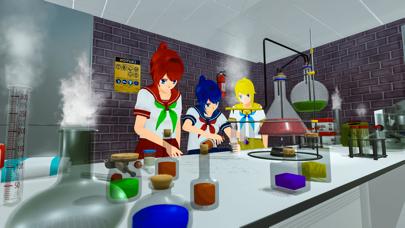 アニメ 高い 学校- 女の子 ゲーム紹介画像5