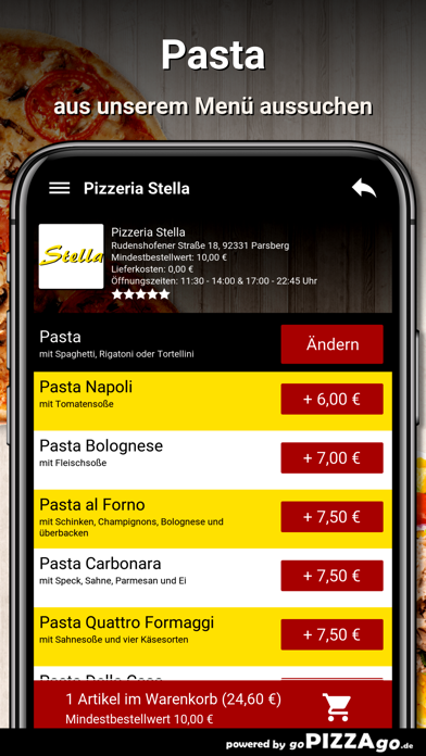 Pizzeria Stella Parsberg screenshot 5