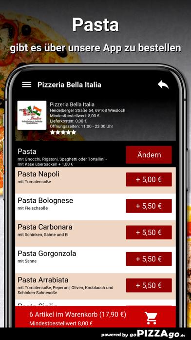 Pizzeria Bella Italia Wiesloch screenshot 6