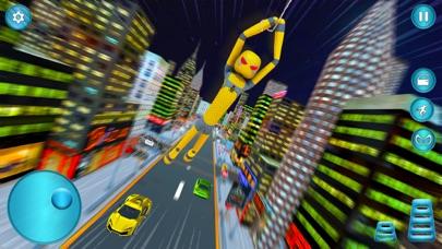 Stickman Rope Super Spider 3D Screenshot on iOS