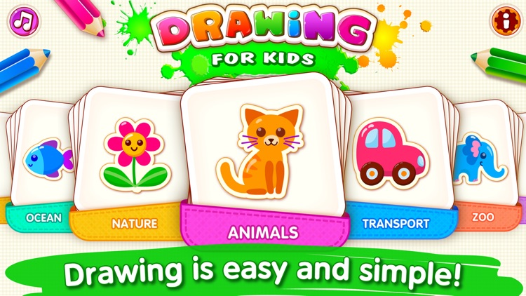 DRAWING FOR KIDS Games! Apps 2