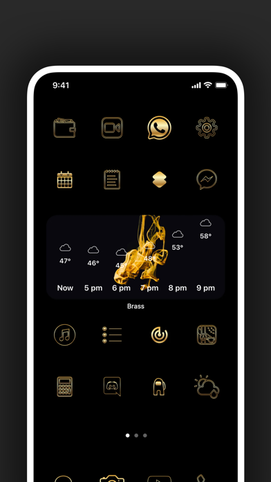 Brass - Custom Icons & Widgets wiki review and how to guide