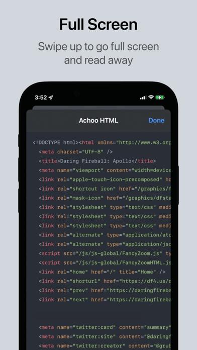 Скриншот №2 к Achoo HTML Viewer  Inspector