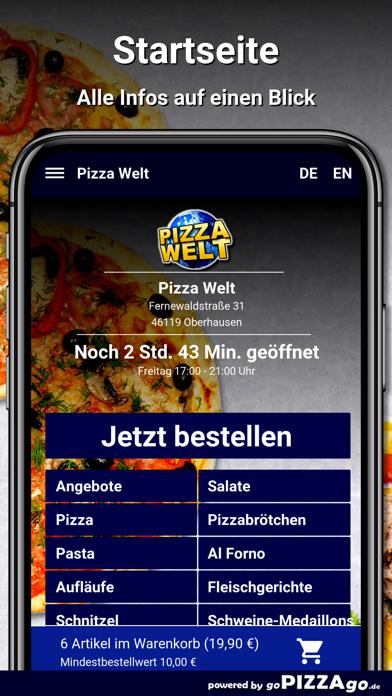 Pizza-Welt Oberhausen screenshot 2