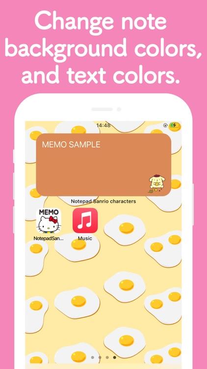 Notepad Sanrio characters screenshot-7